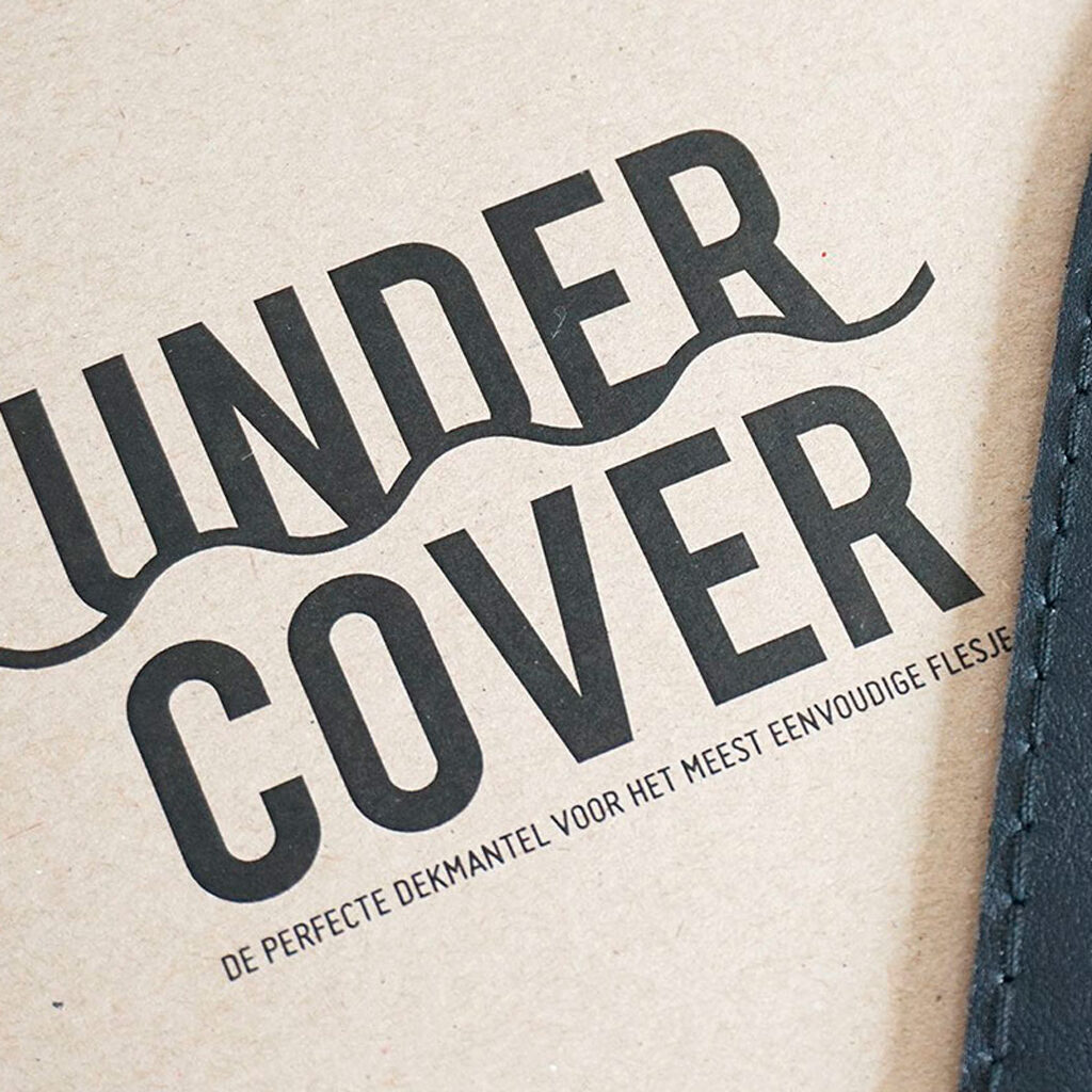 Lederen vaashoes 'under cover'