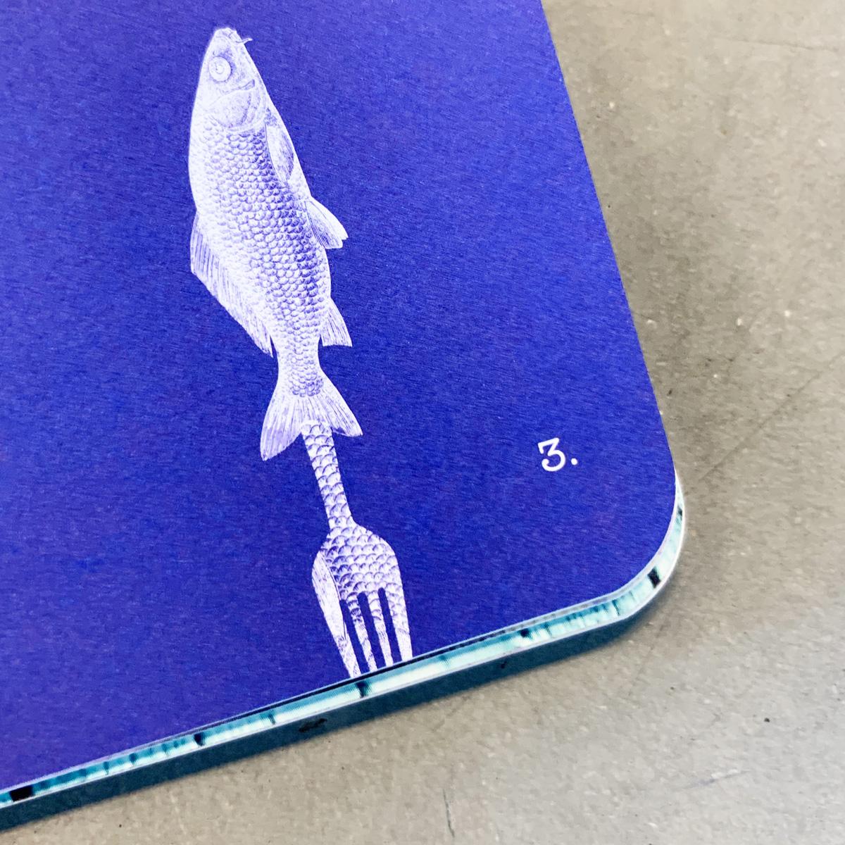 Design van boekje 'My Favorite Fish Dish'