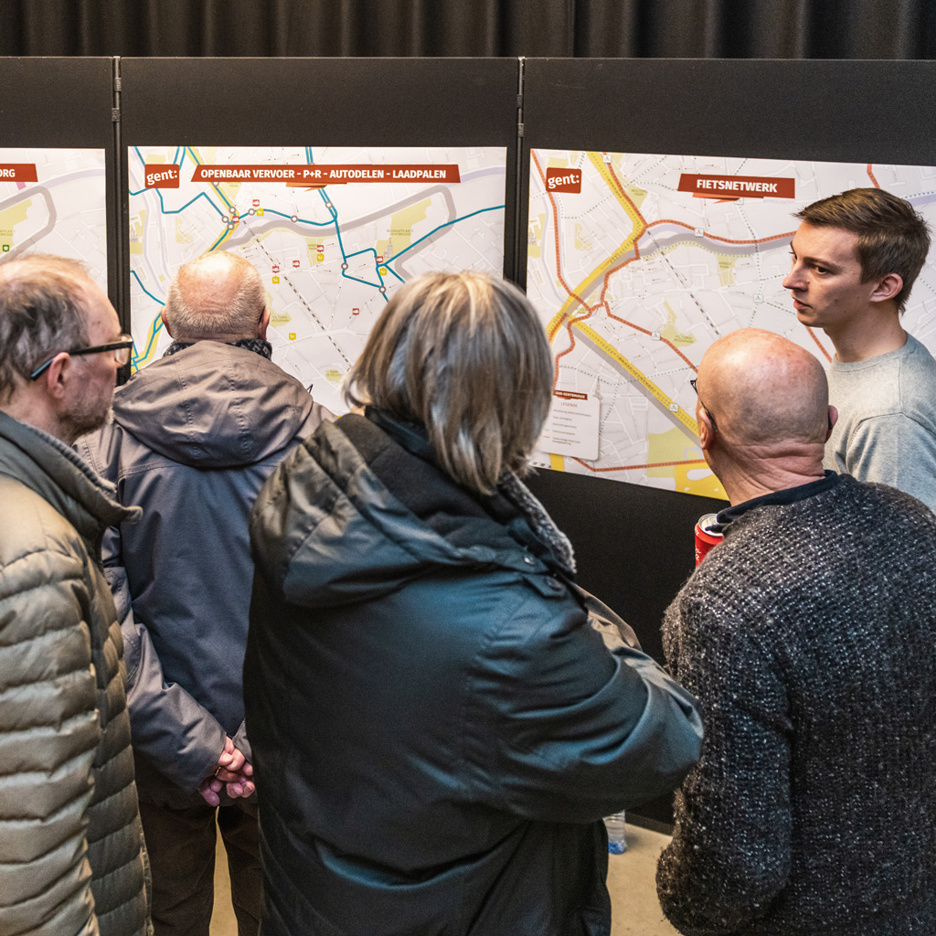 Mobiliteitsmarkt in Gentbrugge