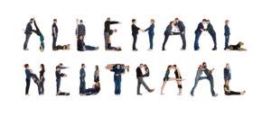 'Allemaal samen' gevormd met mensen