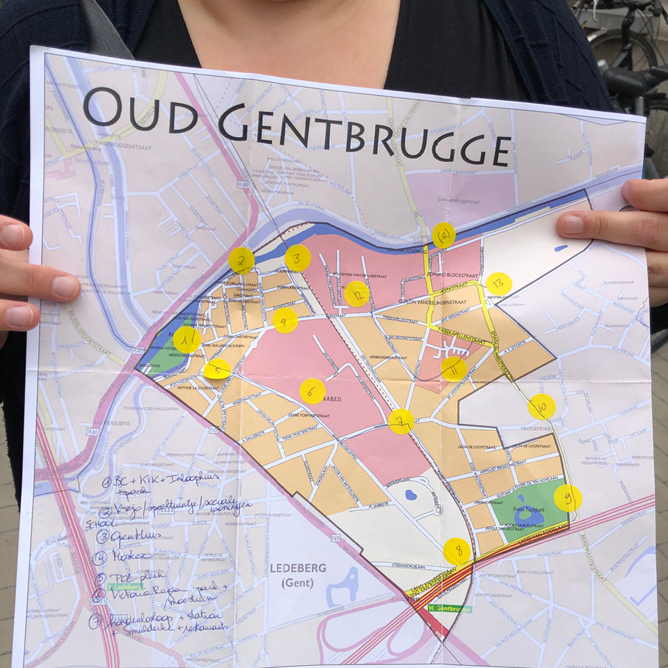 fieldresearch voor de campagne #alsjetmijvraagt voor de wijkmobiliteitsplannen van Stad Gent