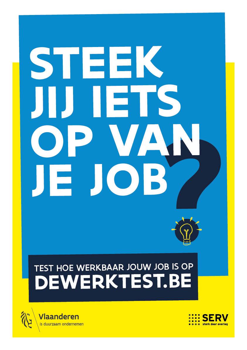 Campagne Affiche Werkbaar Werk