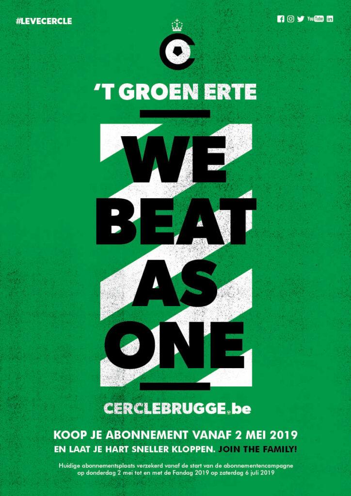Affiche voor Cercle Brugge