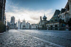 Een ochtend in de straten van Gent