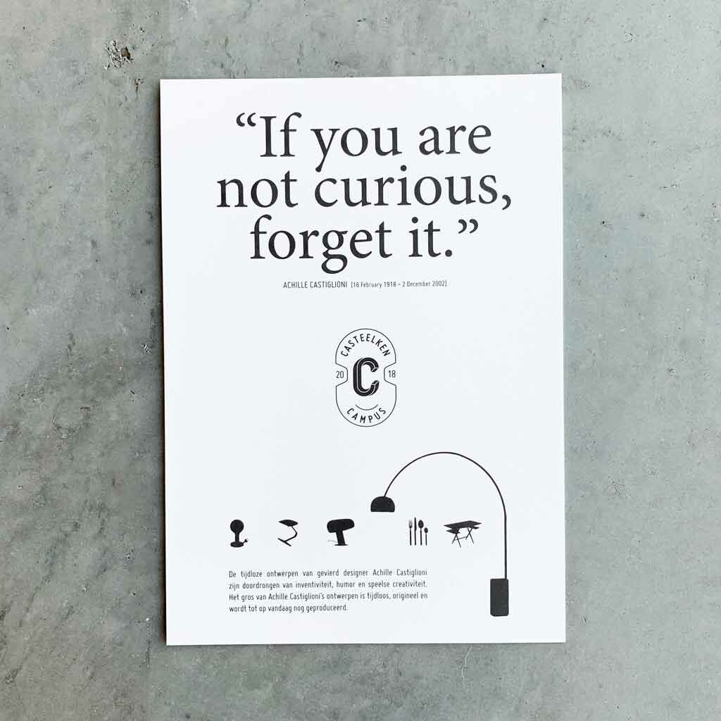 Affiche voor Casteelken Campus