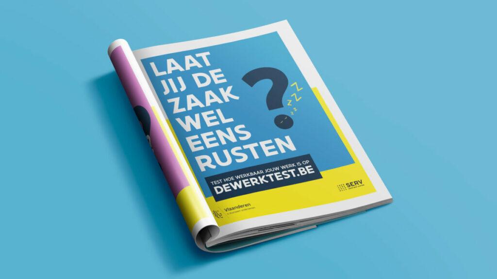 Campagne Werkbaar Werk advertentie magazine