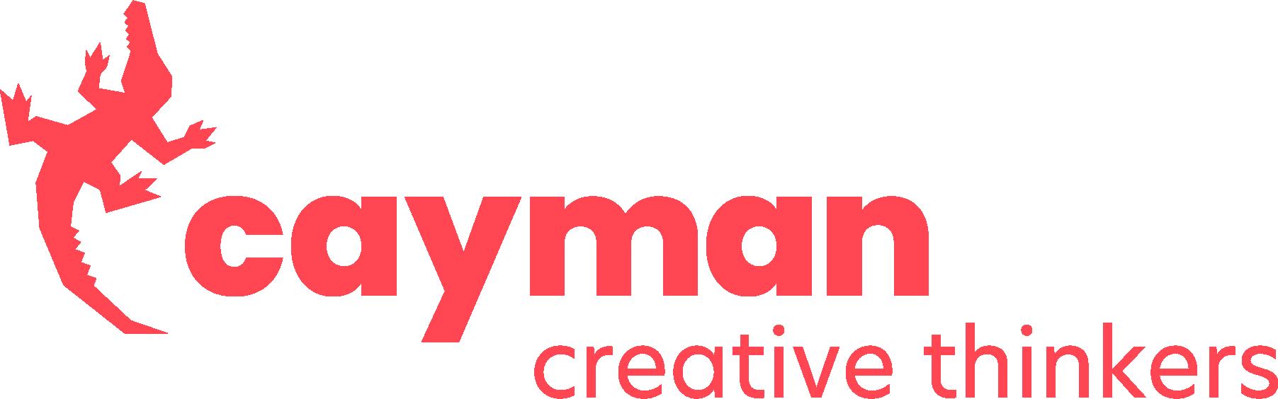 Logo van Cayman: creatief communicatiebureau in Brugge, West-Vlaanderen