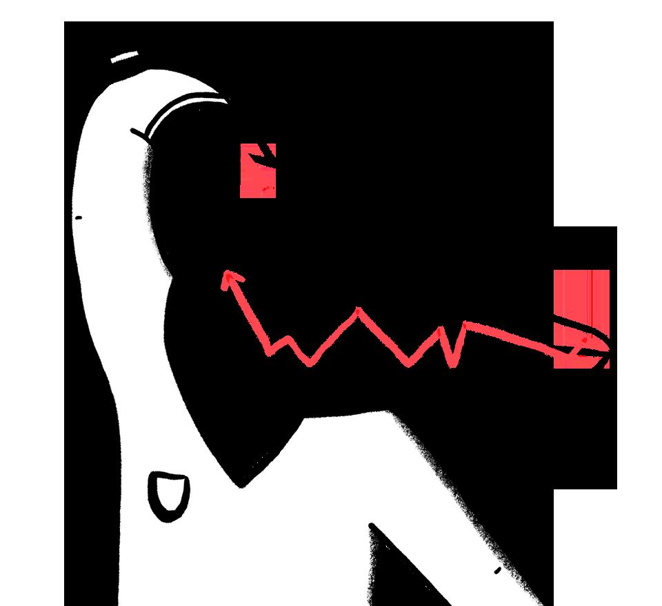 Illustratie voor merkbeleving