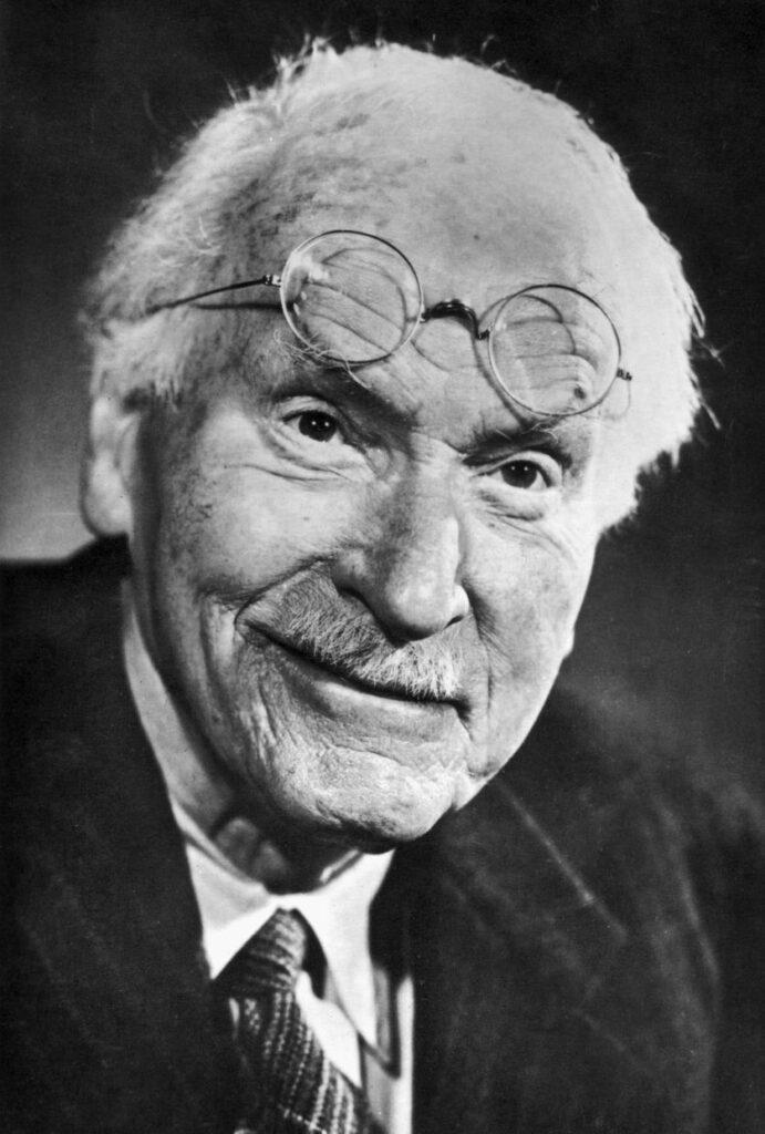 Foto van Carl Jung