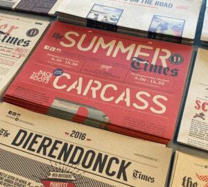 Krantjes voor Slagerij Dierendonck