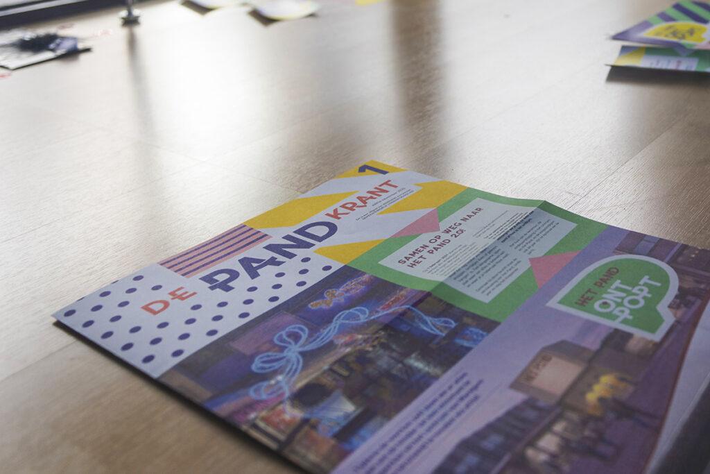 """De PandKrant: een krantje voor de campagne """"Het Pand OntPopt"""" voor Stad Waregem"""