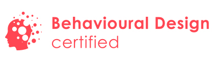 Logo van 'Behavioural Design certified'