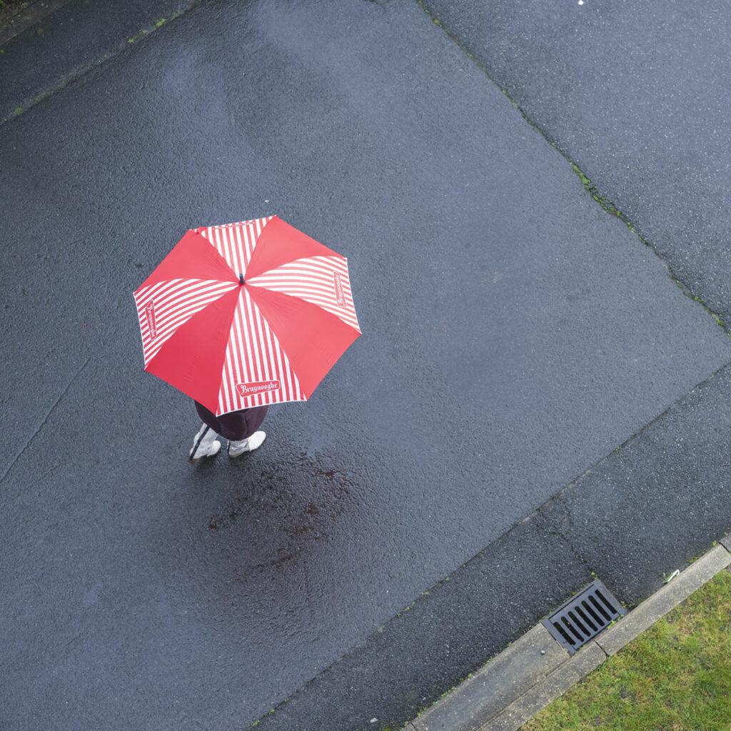 Een paraplu van Bruynooghe Koffie