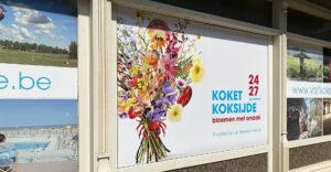 Het campagnebeeld voor Koket Koksijde